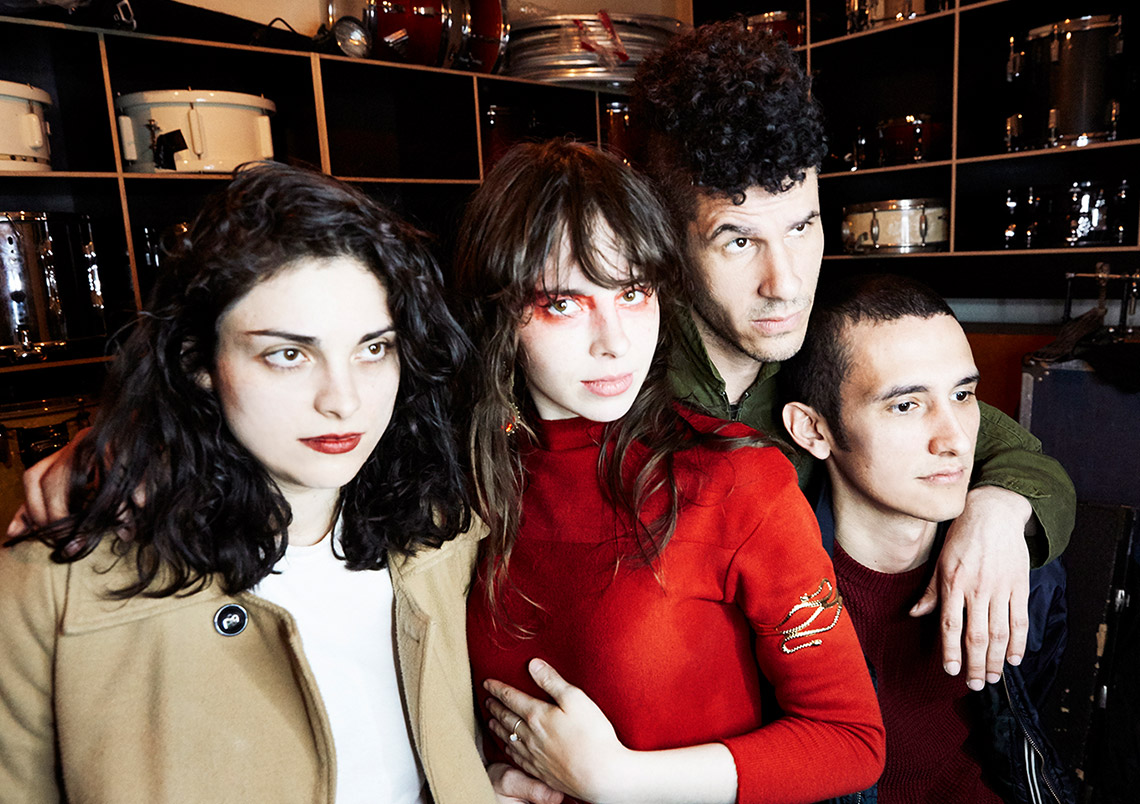 Le Butcherettes – in/THE END (Live at Clouds Hill)